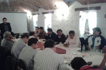 Veedores de la Liga de todo el país se reunieron en Sucre