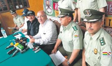 La Paz: Caen tres policías sindicados de extorsión