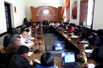 Brigada conforma comisiones para legislación 2015