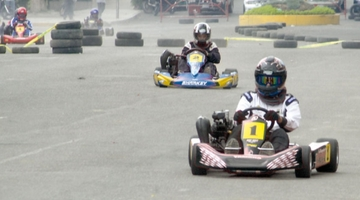 Karting concluye etapa