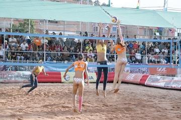 Venezuela se lleva las coronas de la IV Etapa del Circuito Sudamericano de Voleibol de Playa