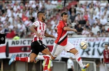 River cede tercer empate en casa y queda a cuatro puntos de Rosario Central