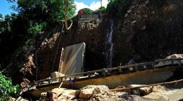 Puente San Pedrito será reemplazado hasta el domingo