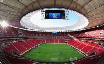 El estadio mundialista de Brasilia acogerá oficinas