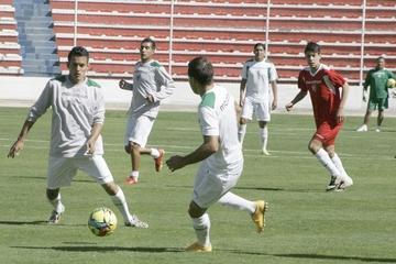 Selección boliviana termina  microciclo tras dos jornadas