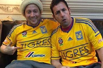 Adam Sandler y Rob Schneider se declaran seguidores de Tigres