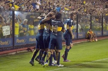 Boca Juniors pavimenta su clasificación a octavos