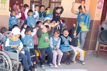 Más escuelas incluyen a discapacitados en Sucre
