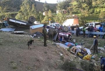Accidente vuelve a enlutar la ruta Tarabuco-Sucre