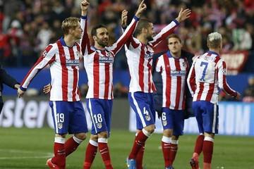 Los penaltis premian a un  potente Atlético de Madrid