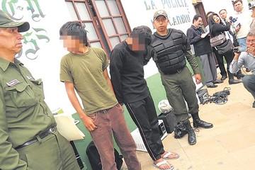 Cae banda de asaltantes de inmuebles en Yotala