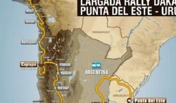 Se filtra el supuesto mapa del Dakar 2016 en el que Bolivia quedaría fuera