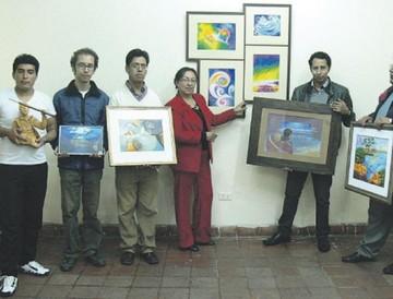 Artistas exhiben trabajos por el 23 de Marzo
