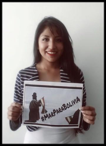 #MarParaBolivia, el hashtag que el país quiere marcar en el mundo