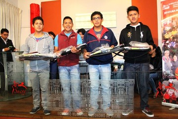 Cinco raquetbolistas viajan a Panamericano