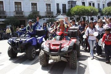 Nosiglia espera la ruta del Dakar