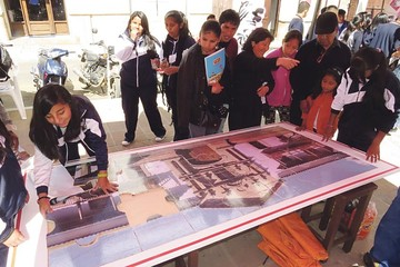 Escuela Taller Sucre sale a concientizar  sobre patrimonio