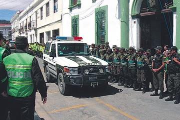 Chuquisaca: Deserción  de policías agrava déficit