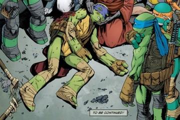 """La muerte de Donatello en las """"Tortugas Ninja"""""""