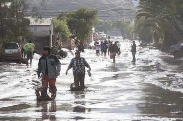 Aumentan a siete las víctimas fatales en Chile por las lluvias