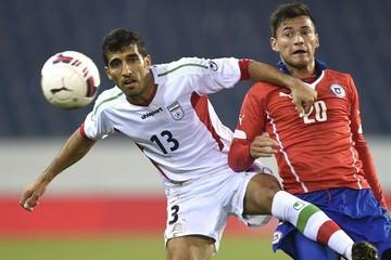 Irán aprovecha debilidades de la selección chilena