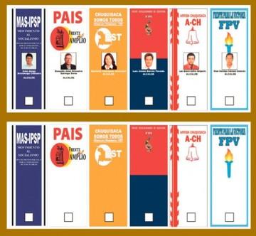Frentes advierten posible confusión en la votación