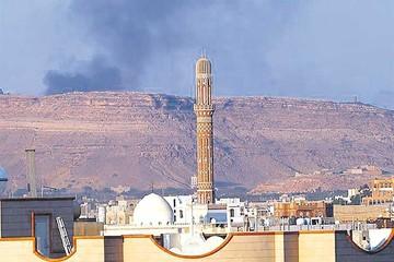 La coalición árabe continúa bombardeando Yemen