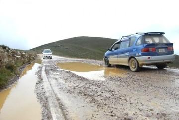 ABC reporta cierre de tramo entre Tarija y Bermejo por derrumbes