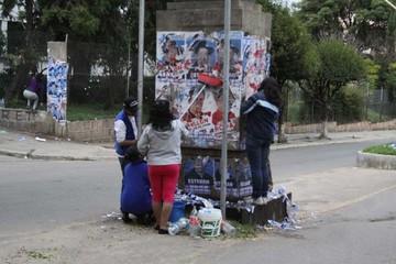 La propaganda electoral sigue afeando la ciudad