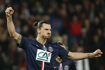 PSG avanza con un hat-trick de Ibrahimovic