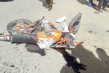Motociclista muere arrollado por carro de alto tonelaje