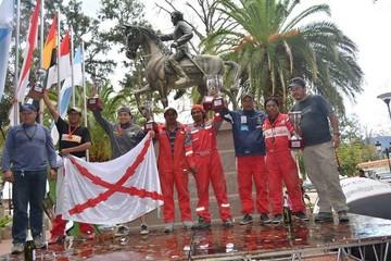 Sucre consigue un lugar en podio de Tarija