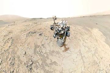 El Curiosity halla indicios de agua salada en Marte