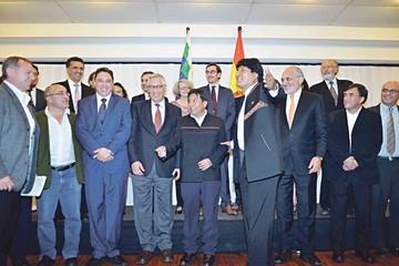Mar: Evo reúne a especialistas extranjeros y a ex cancilleres