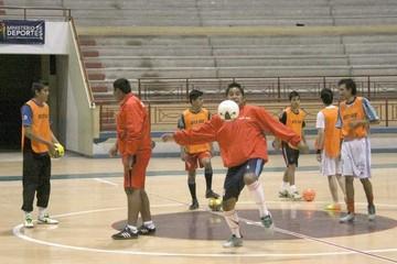 Futsal prepara inicio de la Copa