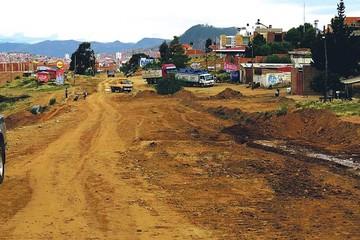 Así está la avenida Juana Azurduy de Padilla