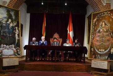 Depositan en la Casa de la Moneda dos lienzos patrimoniales recuperados
