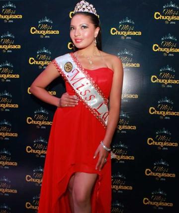 Las Candidatas al Miss Chuquisaca 2015