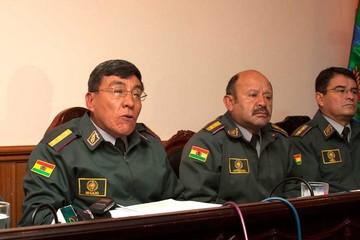 Coronel: García, Quintana y Montaño sacaron armas