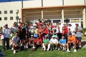 Sucre consigue cinco títulos en torneo de tenis