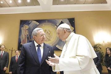 Raúl Castro agradece al Papa por gestión ante Estados Unidos