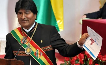 Evo Morales gobernará una semana desde Chuquisaca