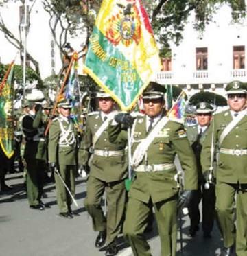 Jefes policiales de Chuquisaca tienen nuevos destinos