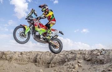 """""""Chavo"""" Salvatierra llega tercero en la primera etapa del Rally Faraones"""