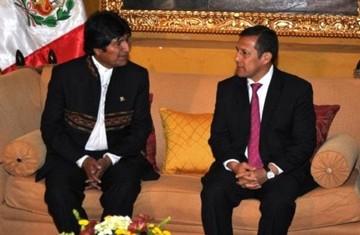 Anuncian en Perú primer gabinete binacional con la participación de Humala y Morales