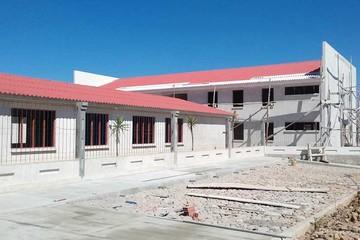 Nuevo hogar de niños está en fase final de edificación