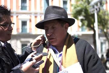 Felipa Huanca formaliza denuncia contra Rafael Quispe por acoso político