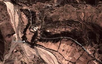 Derrumbe de un cerro deja sin servicio de agua a gran parte de la ciudad de Sucre