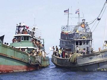 La crisis de inmigrantes desborda sudeste de Asia