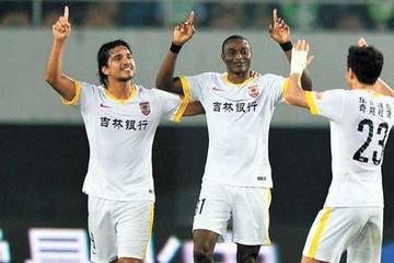 Marcelo Martins marca su tercera diana en China